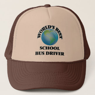 World's Best School Bus Driver Trucker Hat