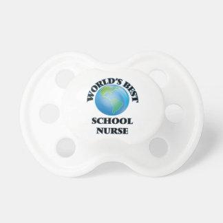 World's Best School Nurse BooginHead Pacifier
