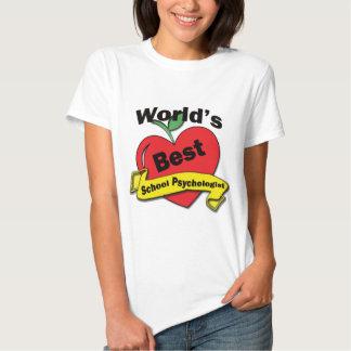 World's Best School Psychologist Tee Shirt