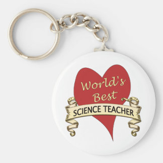 World's Best Science Teacher Key Ring