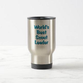 World's best Scout Leader merchandise Travel Mug