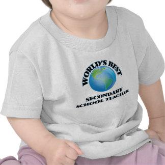World's Best Secondary School Teacher Tshirt
