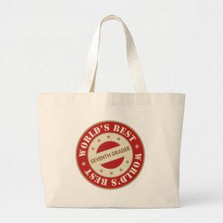 Worlds Best Seventh Grader Bag