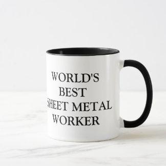 World's best Sheet Metal Worker Mug