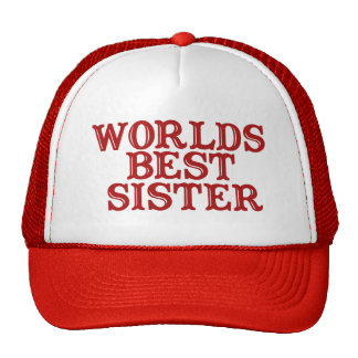 Worlds Best Sister Cap
