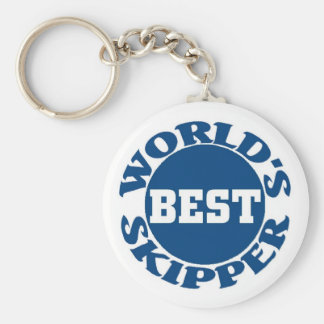 World's Best Skipper Key Ring