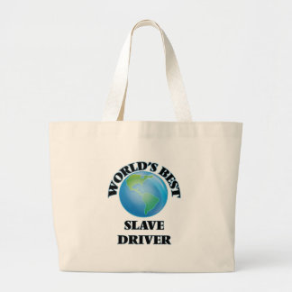 World's Best Slave Driver Canvas Bag