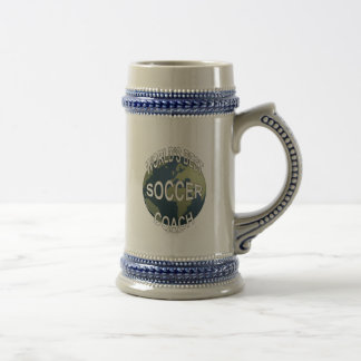World's Best Soccer Coach Beer Stein