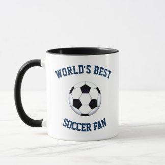 World's Best Soccer Fan Combo Mug