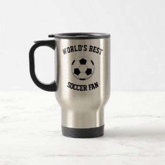 World's Best Soccer Fan Travel Mug