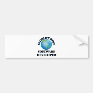 World's Best Software Developer Bumper Stickers