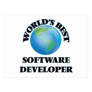 World's Best Software Developer Postcard
