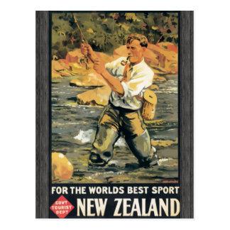 World'S Best Sport Govt Tourist Dept New Zealand, Postcard