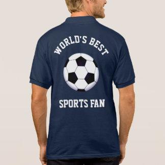 World's Best Sports Fan Polo Shirt