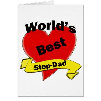 World's Best Step-Dad Card