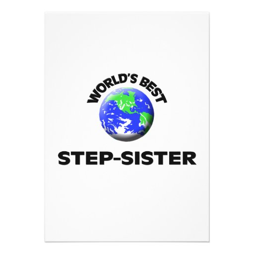 World's Best Step-Sister Card