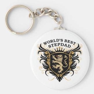 World's Best Stepdad Key Ring