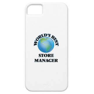 World's Best Store Manager iPhone 5 Covers