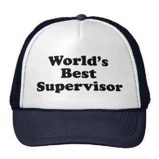 World's Best Supervisor Cap
