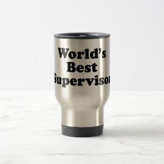 World's Best Supervisor Stainless Steel Travel Mug