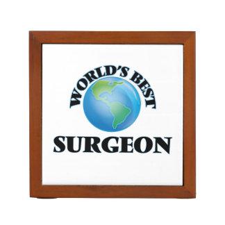 World's Best Surgeon Desk Organiser