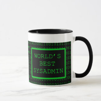 World's Best SysAdmin Mug