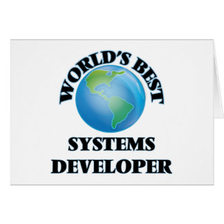 World's Best Systems Developer Cards