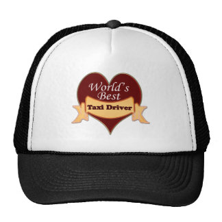 World's Best Taxi Driver Cap
