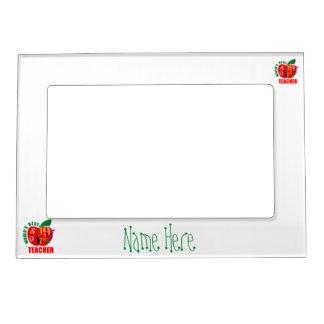 World's Best Teacher Apple Magnetic Photo Frame