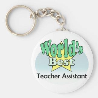 World's best Teacher Assistant Key Ring