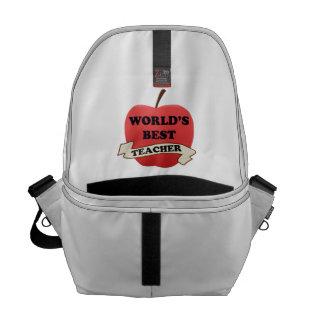 World's Best Teacher Commuter Bags