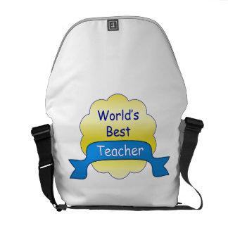 World's Best Teacher Courier Bag