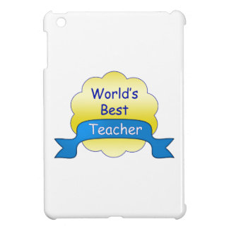World's Best Teacher iPad Mini Case