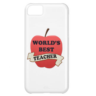 World's Best Teacher iPhone 5C Case
