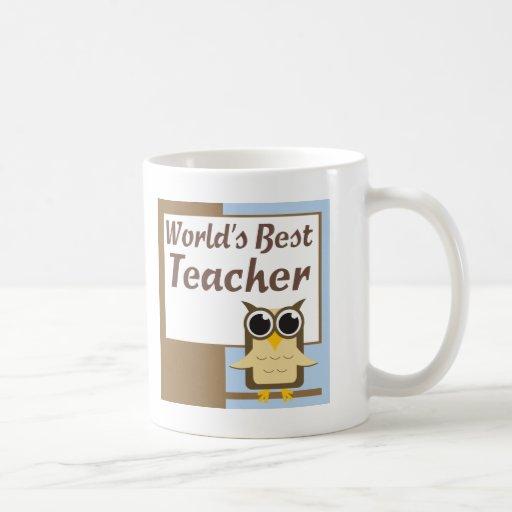 Worlds Best Teacher Mug
