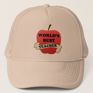 World's Best Teacher Trucker Hat