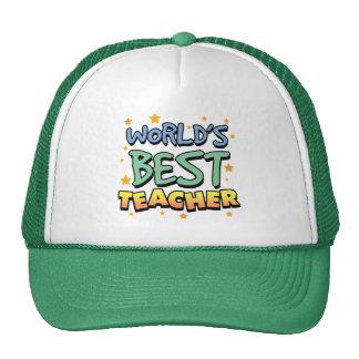 World's Best Teacher Trucker Hat