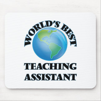 World's Best Teaching Assistant Mousepad
