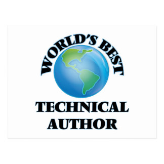 World's Best Technical Author Post Cards