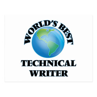 World's Best Technical Writer Postcards