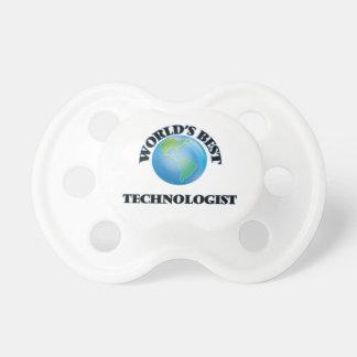 World's Best Technologist BooginHead Pacifier
