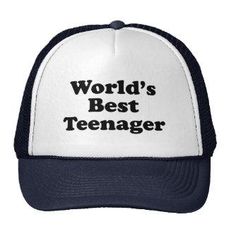 World's Best Teenager Hat
