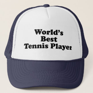 World's Best Tennis Player Trucker Hat