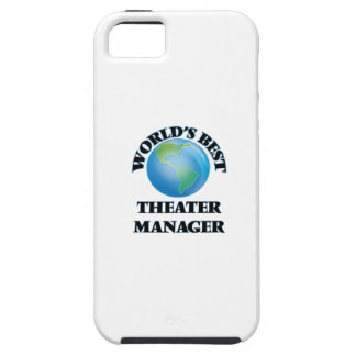 World's Best Theater Manager iPhone 5 Cases