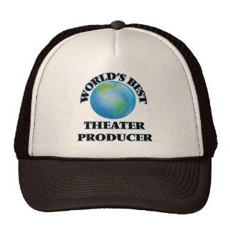 World's Best Theater Producer Trucker Hat