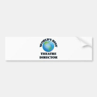 World's Best Theatre Director Bumper Sticker