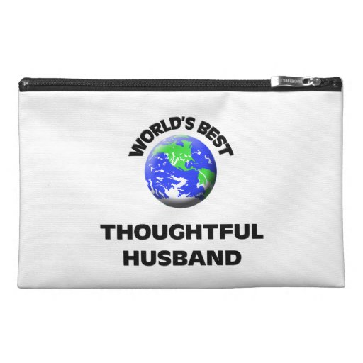 World's Best Thoughtful Husband Travel Accessory Bag