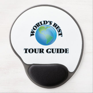 World's Best Tour Guide Gel Mouse Pads