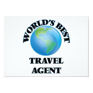 World's Best Travel Agent Card