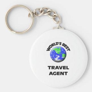 World's Best Travel Agent Key Chain